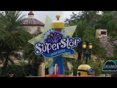 FULL Universal's Superstar Parade 2017 - Universal Studios Orlando, Florida