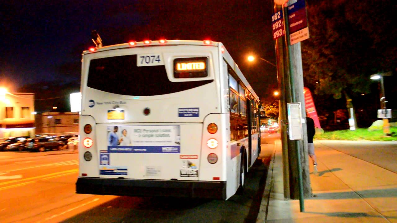 Mta New York City Bus Victory Blvd Amp Willowbrook Road