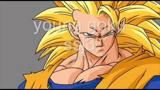 All forms of the incridible goku