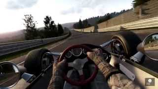 Project Cars - Lotus 49 Nordschleife (Rain) Technikshot (Suspension) Build #569 InGame