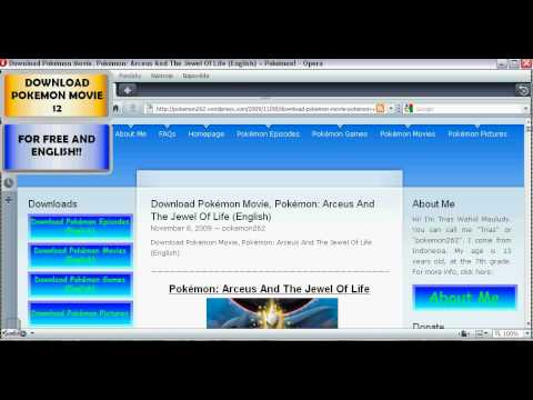 pokemon movie arceus and the jewel of life download