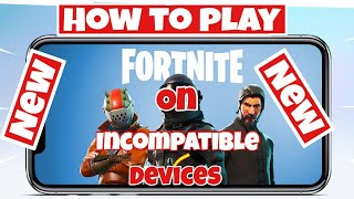 How to play Fortnite on IPhone 6/5s and under 3 steps working 2018/2019