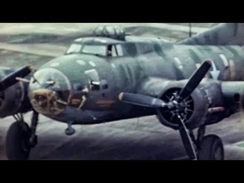 Color Footage Of Memphis Belle During WWII • B-17 Bomber
