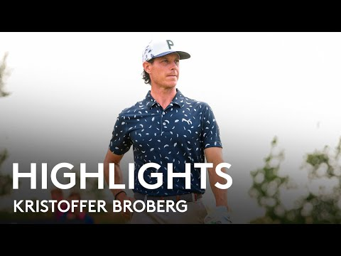 Kristoffer Broberg shoots 61 to lead by EIGHT shots | Round 3 Highlights | 2021 Dutch Open