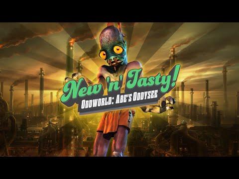 Oddworld: New 'n' Tasty – Launch Trailer