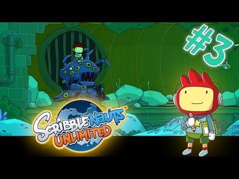 Scribblenauts Unlimited Game Play Walkthrough EP3 |