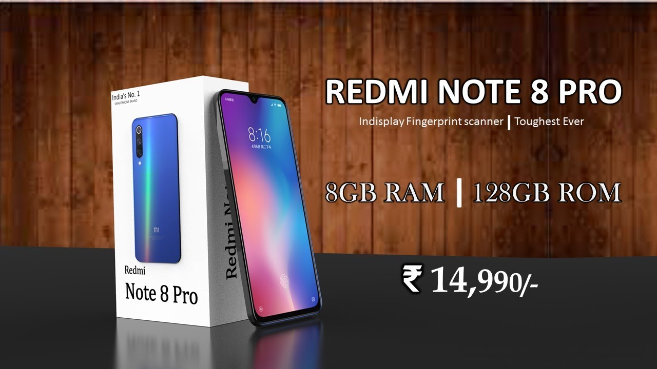 Redmi Note 8 Pro - Price, Specification, Launch Date In India | Redmi Note  8 Pro