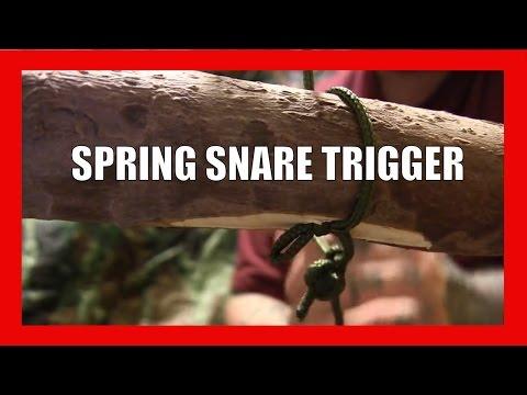 Spring Snare Trap Trigger