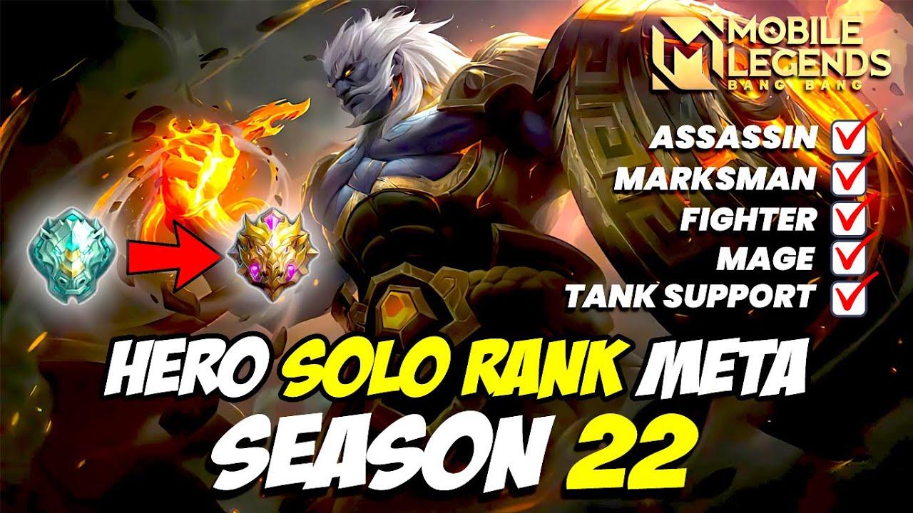 Download HERO META SEASON 22 MOBILE LEGENDS INDONESIA 2021 | RANK EPIC SAMPAI MYTHIC