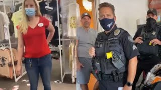 Insane Karen Has A Fit In Target And Gets Arrested