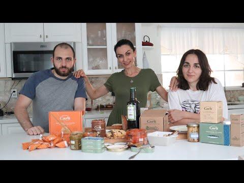 Что Заказала из Итальянского Магазина Carli - Вкусная Дегустация - Эгине - Семейный Влог - Heghineh