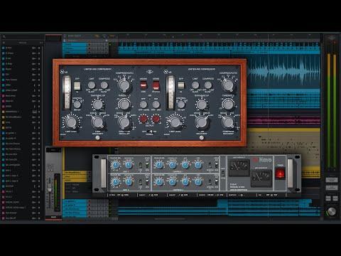 Sound Examples - UAD Neve 2254 & 33609 Limiter/Compressors