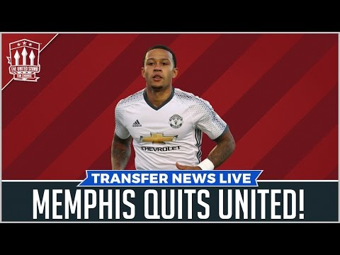 Memphis quits United for Lyon | Man Utd News