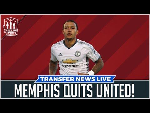 Memphis quits United for Lyon   Man Utd News
