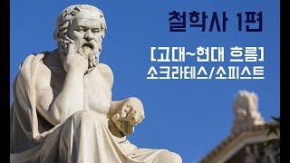 [윤쌤 수능 특강] 철학 배경지식 1편 / 고대~현대 철학사 흐름 / 소크라테스, 소피스트 #철학 #배경지식…