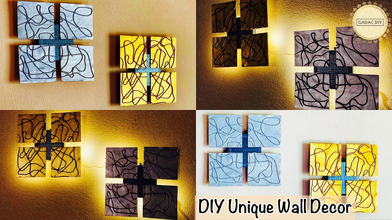 Do It Yourself Home Decorating Ideas: Unique Wall Hanging Ideas