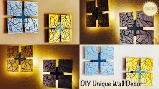 Unique wall hanging ideas| gadac diy| do it yourself wall decor| wall hanging craft ideas| diy craft