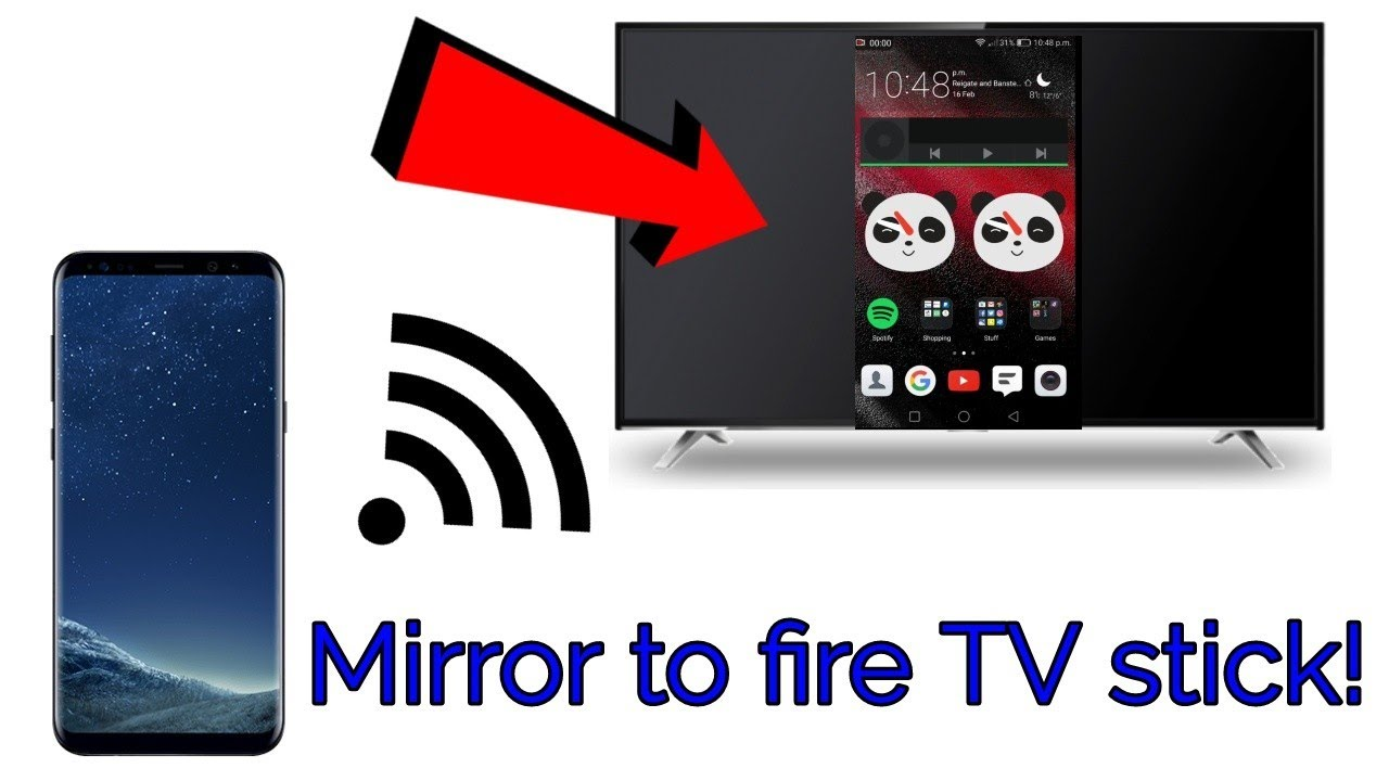 How To Mirror Your Android Devices Screen To A Fire Stick