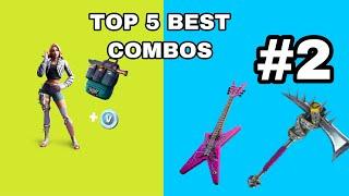 TOP 5 BEST *WILDE* STARTER PACK SKIN COMBOS! (Fortnite Battle Royale)