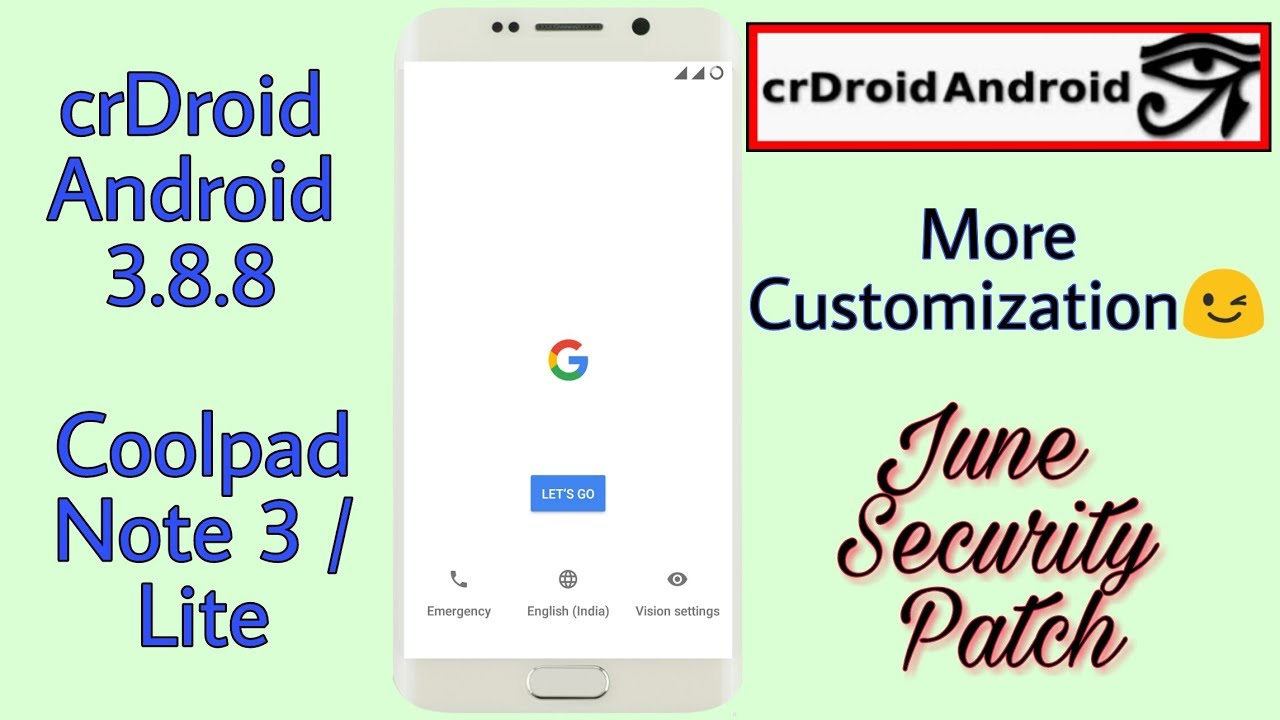 ROM] [FINAL] [UNOFFICIAL] CrDroidAndroid v3 8 8 for Coolpad