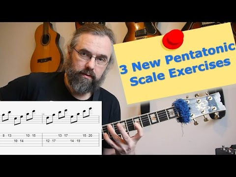 3 Pentatonic Scale Exercises You Never Played - But you want to check them out!