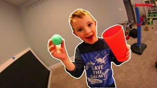 6 YEAR OLD MAKES EPIC TRICK SHOTS!
