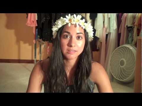 Diy Hippie Flower Headband Youtube