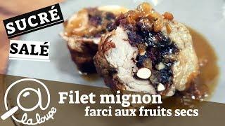 FILET MIGNON FARCI AUX FRUITS SECS #62