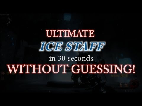 *NEW* Craft Ultimate ICE Staff WITHOUT GUESSING! Full In-Depth Guide! (Origins Zombies)