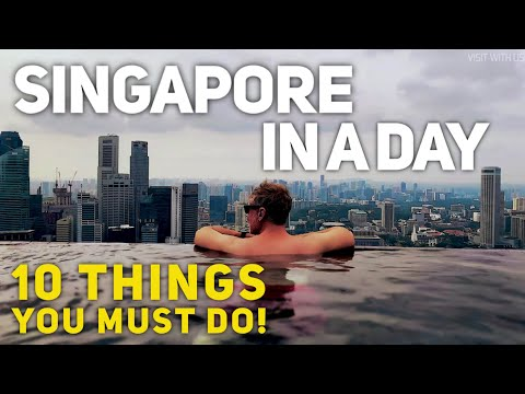SINGAPORE - 10 INCREDIBLE things you can do in a SINGLE DAY!