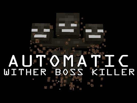 AUTOMATIC WITHER BOSS KILLER - 30 SECONDS - ENTITY CRAMMING EXPLOIT