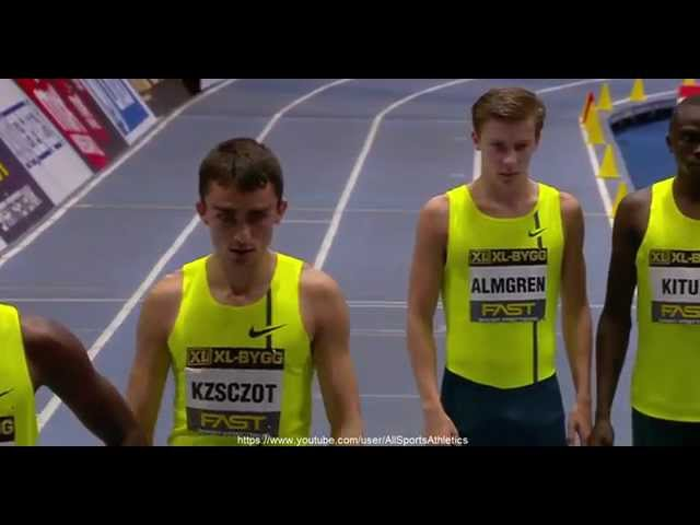 IAAF Indoor Grand Prix Stockholm 2015 - Musaeb Balla 1.45.48 - Men's 800 Metres
