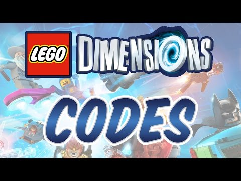 LEGO Dimensions - A Pair Of CODES!!