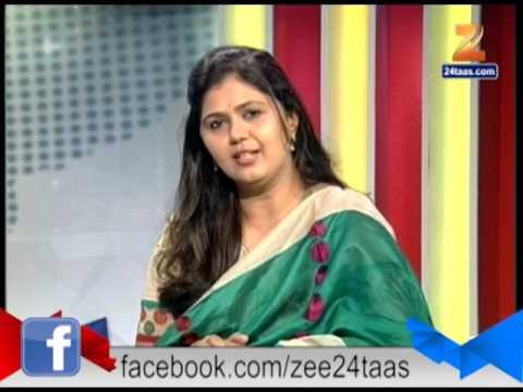 Zee24Taas: 23rd Aug 2014 Pankaja Mumnde Live