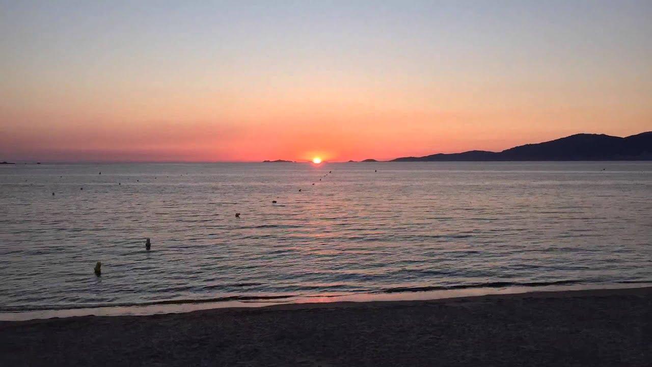 Coucher de soleil time lapse sur ajaccio youtube - Coucher de soleil marseille ...