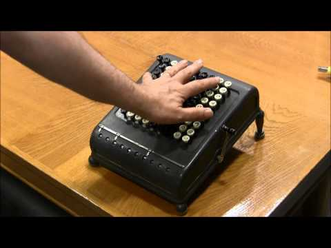 how to change ribbon on canon adding machine