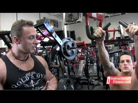 Instructional Fitness - Hammer Pull Downs