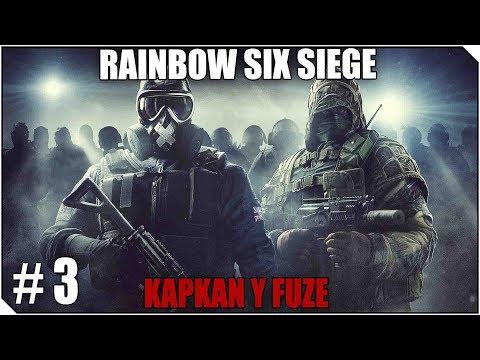 RAINBOW SIX SIEGE   KAPKAN Y FUZE   Los buenos RUSOS carrileando!!