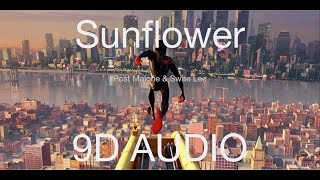 Post Malone & Swae Lee - Sunflower (9D AUDIO)