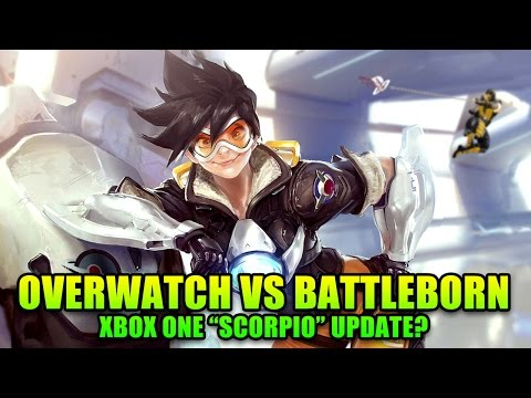 This Week in Gaming - OVERWATCH VS BATTLEBORN, Xbox One Upgrade Details | FPS News