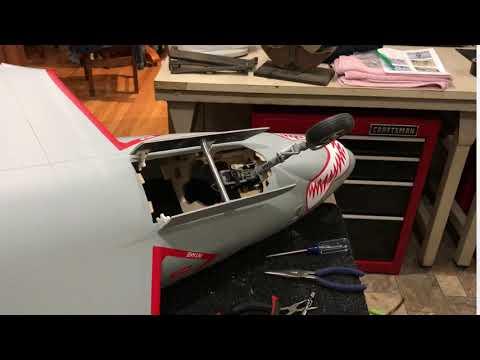 TopRC F9F Cougar nose gear door operation