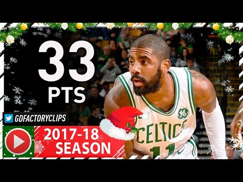 Kyrie Irving Full Highlights vs Jazz (2017.12.15) - 33 Pts, 6 Assists