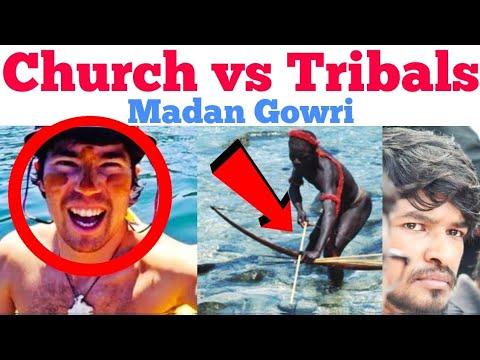 Church vs Tribals | Tamil | John Allen Chou | Madan Gowri | MG | Jesus Loves You | Sentinels island