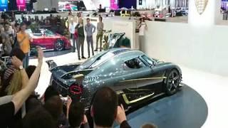 Koenigsegg killed the Agera RS Gryphon engine at 87TH GENEVA INTERATIONAL MOTOR SHOW