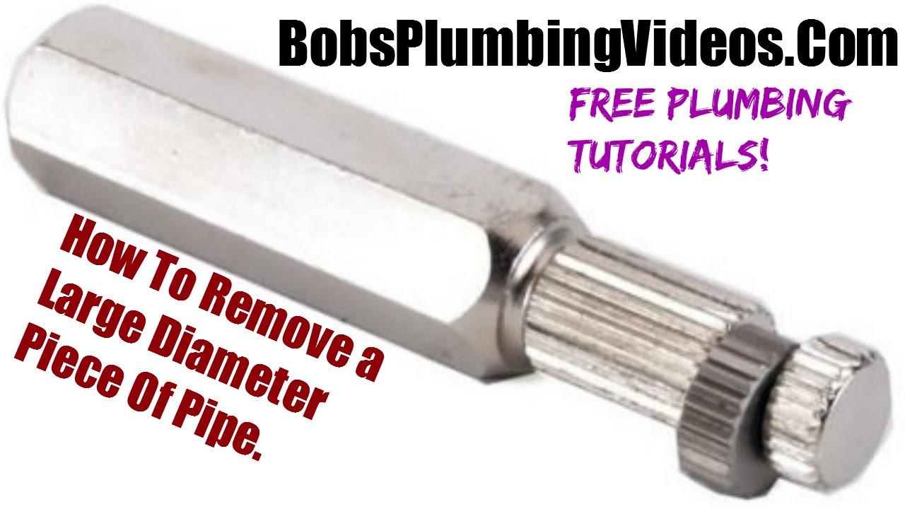 Broken Pipe Large Diameter Youtube