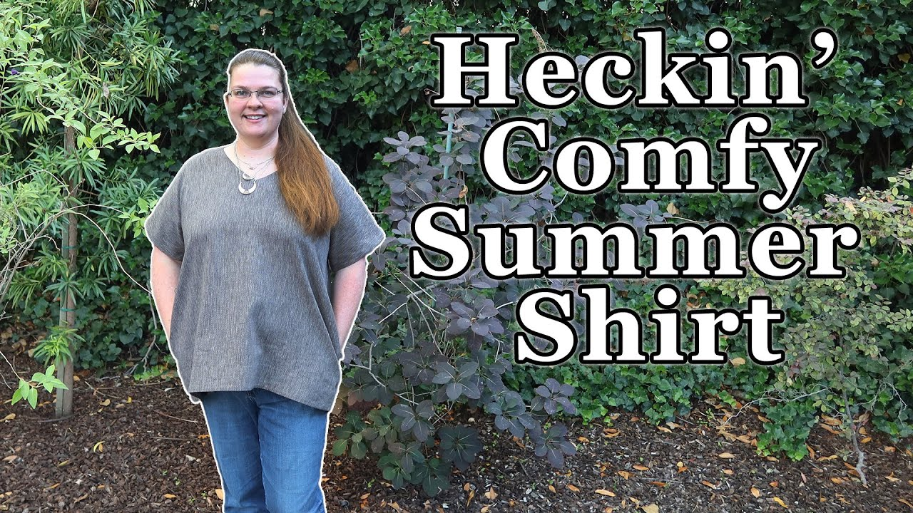 Making a Super Comfortable Tunic Top