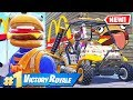 McDonald's ORDER Your LOOT Game Mode w/Ssundee *NEW* In Fortnite Battle Royale
