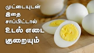 How to reduce your weight by Eating Eggs? | Weight loss tips in Tamil
