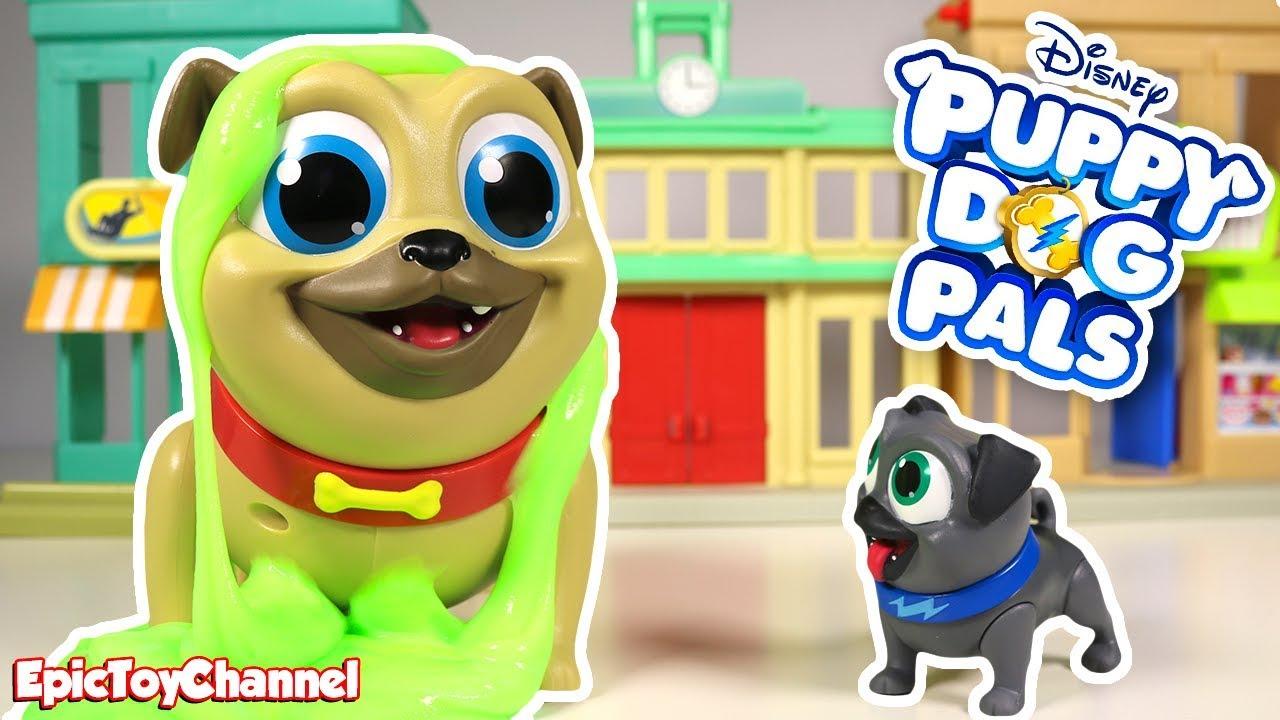 dbafdd2ede6 DISNEY PUPPY DOG PALS Surprise Action Bingo   Surprise Action Rolly Puppy  Dog Pals Toys