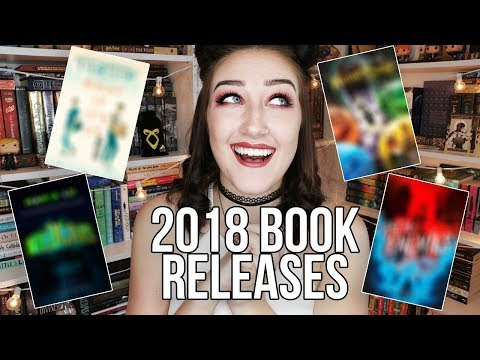 MOST ANTICIPATED BOOK RELEASES FOR THE REST OF 2018.